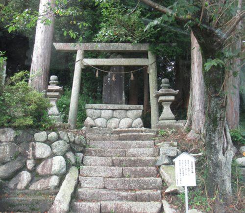 寺里神明社跡